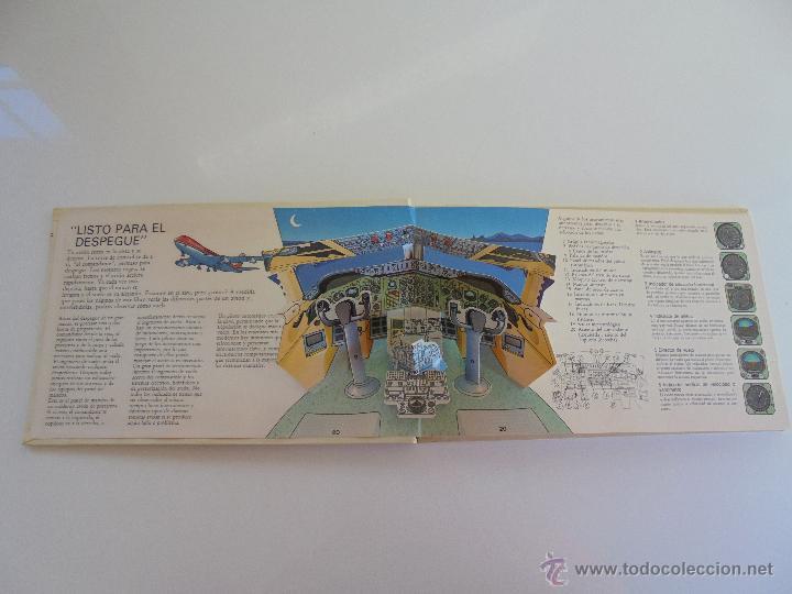 Maquetas: VÉALO FUNCIONAR EL COCHE. VÉALO FUNCIONAR EL AVIÓN. INCLUYE MAQUETA. EDITA FOLIO 1984-85. - Foto 27 - 52711137