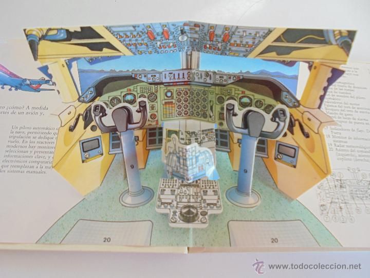Maquetas: VÉALO FUNCIONAR EL COCHE. VÉALO FUNCIONAR EL AVIÓN. INCLUYE MAQUETA. EDITA FOLIO 1984-85. - Foto 28 - 52711137