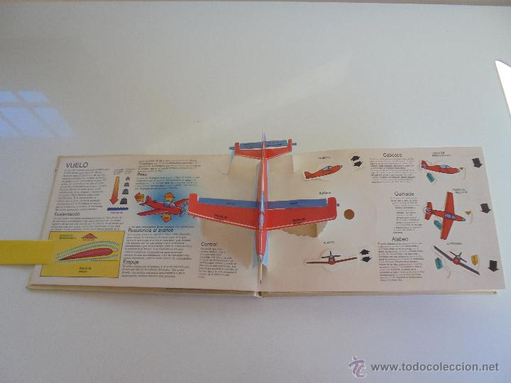 Maquetas: VÉALO FUNCIONAR EL COCHE. VÉALO FUNCIONAR EL AVIÓN. INCLUYE MAQUETA. EDITA FOLIO 1984-85. - Foto 30 - 52711137