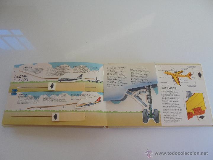 Maquetas: VÉALO FUNCIONAR EL COCHE. VÉALO FUNCIONAR EL AVIÓN. INCLUYE MAQUETA. EDITA FOLIO 1984-85. - Foto 32 - 52711137