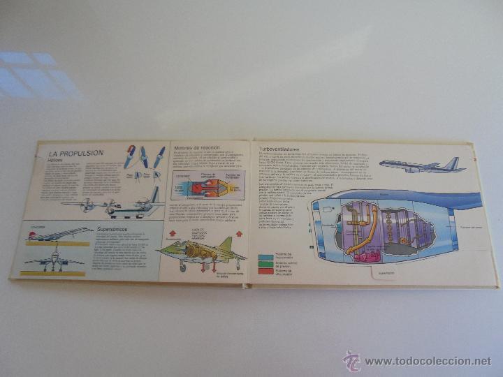 Maquetas: VÉALO FUNCIONAR EL COCHE. VÉALO FUNCIONAR EL AVIÓN. INCLUYE MAQUETA. EDITA FOLIO 1984-85. - Foto 33 - 52711137