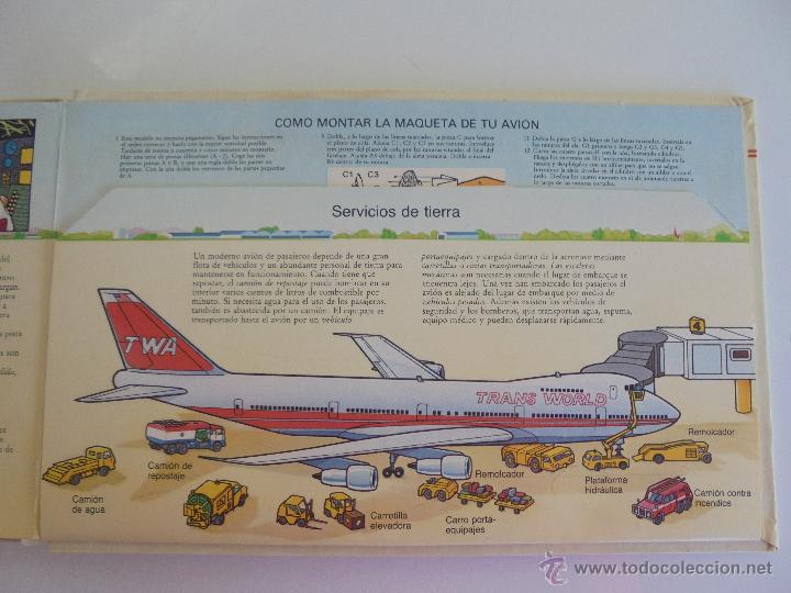 Maquetas: VÉALO FUNCIONAR EL COCHE. VÉALO FUNCIONAR EL AVIÓN. INCLUYE MAQUETA. EDITA FOLIO 1984-85. - Foto 36 - 52711137