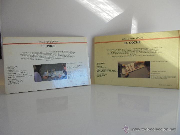 Maquetas: VÉALO FUNCIONAR EL COCHE. VÉALO FUNCIONAR EL AVIÓN. INCLUYE MAQUETA. EDITA FOLIO 1984-85. - Foto 41 - 52711137