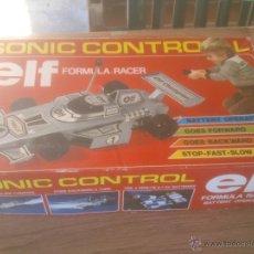 Maquetas: SONIC CONTROL ELF FORMULA RACER . Lote 53053708