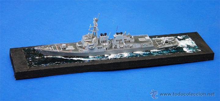 MAQUETA ESCALA 1/700 DDG-81 USS WINSTON S. CHURCHILL (Juguetes - Modelismo y Radiocontrol - Maquetas - Barcos)