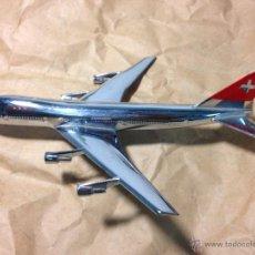 Maquetas: BOEING 747-257 SWISSAIR. MAQUETA DE LOS 70/80. Lote 86973418