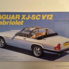 Maquetas: JAGUAR XJ SC V12 CABRIOLET HASEGAWA. Lote 53269589