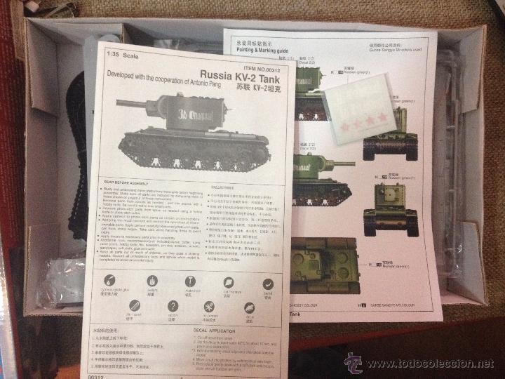 Maquetas: MAQUETA CARRO DE COMBATE RUSO WWII ESCALA 1/35 FABRICADO TRUMPETER - Foto 2 - 53524477