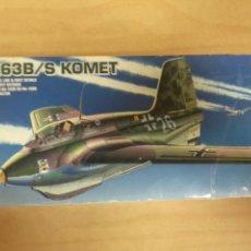 Maquetas: ME-163B/S KOMET DE ACADEMY. Lote 53550418