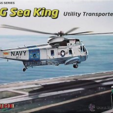 Maquettes: MAQUETA CIBER-HOBBY 1/72 SIKORSKY SH-3G SEA KING #5113. Lote 68183393