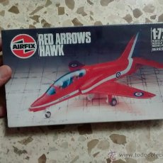 Maquetas: MAQUETA AVIÓN 1:72 AIRFIX - RED ARROWS HAWK (1986). Lote 53588995