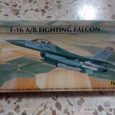 Maquetas: MAQUETA AVIÓN 1:72 HELLER - F-16 A/B FIGHTING FALCON (80'-90'). Lote 53589060