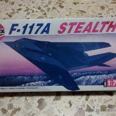 Maquetas: MAQUETA AVIÓN 1:72 AIRFIX - F-117A STEALTH (1992). Lote 53589462