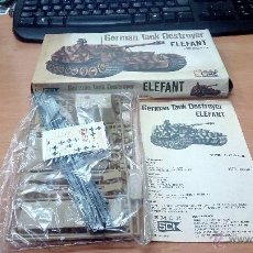 Maquetas: MAQUETA ESCI 1/72 GERMAN TANK DESTROYER ELEFANT. Lote 53800101