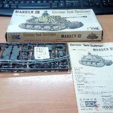 Maquetas: MAQUETS ESCI 1/72 GERMAN TANK DESTROYER MARDER III. Lote 53800701