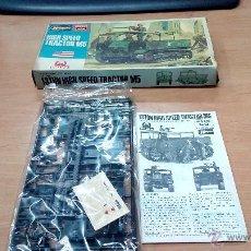 Maquetas: MAQUETA HASEGAWA 1/72 US ARMY HIGH SPEED TRACTOR M5. Lote 53880946