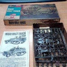 Maquetas: MAQUETA HASEGAWA 1/72 US ARMY M4A1 HALF TRACK . Lote 53881610