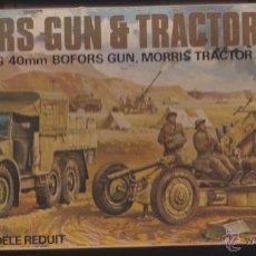 Maquetas: MAQUETA AIRFIX BOFORDS GUN & TRACTOR ESCALA 00. Lote 53971817