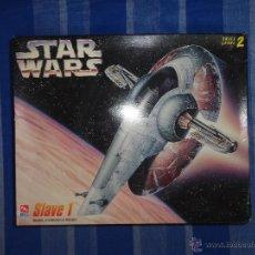 Maquetas: STAR WARS - MAQUETA SLAVE 1 AÑO 1995 LUCASFILM LTD. REF 8768 AMT ERTL VER FOTOS! 111-1. Lote 54074972