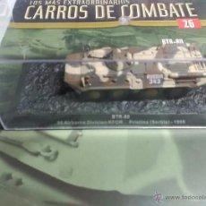 Maquetas: BTR-80 - COLECCION LOS MAS EXTRAORDINARIOS CARROS DE COMBATE - ALTAYA - Nº 26. Lote 54173430
