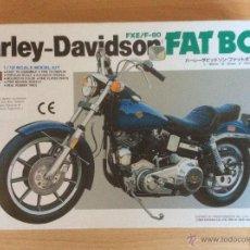 Maquetas: MAQUETA HARLEY-DAVIDSON FAT BOB. Lote 97635535