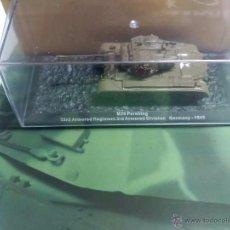 Maquetas: M26 PERSHING 1945 + FASCICULO - COLECCION CARROS DE COMBATE - Nº 11 - ALTAYA. Lote 130252119