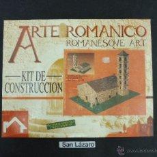 Maquetas: KIT CONSTRUCCIÓN ARTE ROMÁNICO IGLESIA ROMÁNICA :1/50 RECOMENDADO PARA COLECCIONISTAS DOMUS SL. J5R*. Lote 54406666