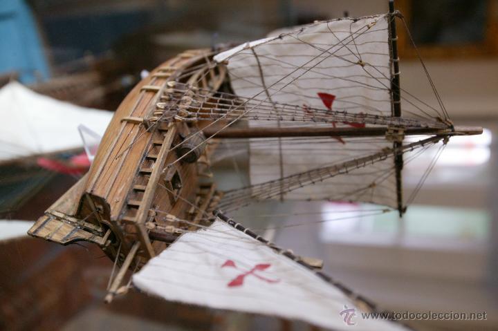 Maquetas: Maqueta barco tipo Carabela del artesano Santiago Vaz - Foto 2 - 54479581