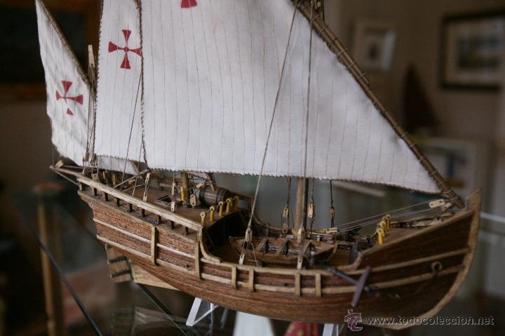 Maquetas: Maqueta barco tipo Carabela del artesano Santiago Vaz - Foto 3 - 54479581