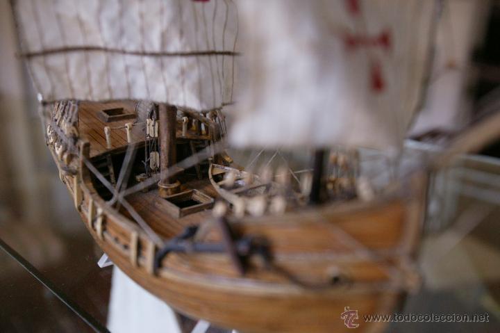 Maquetas: Maqueta barco tipo Carabela del artesano Santiago Vaz - Foto 4 - 54479581
