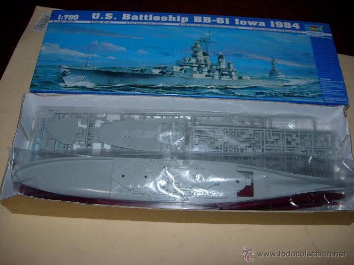 Maquetas: TRUMPETER: U.S. BATTLESHIP BB-61 IOWA 1984. - Foto 1 - 55107352