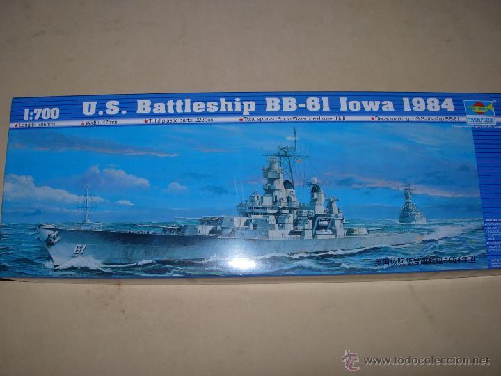 Maquetas: TRUMPETER: U.S. BATTLESHIP BB-61 IOWA 1984. - Foto 4 - 55107352