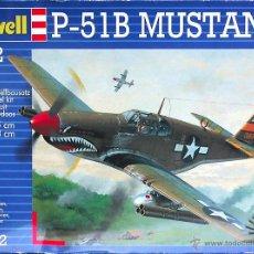 Maquetas: MAQUETA REVELL 1/72 NORTH AMERICAN P-51B MUSTANG - 1999 #04182. Lote 28698180