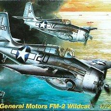 Maquetas: MAQUETA MPM 1/72 GENERAL MOTORS (GRUMMAN) FM-2 WILDCAT #72049. Lote 28698252