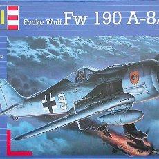 Maquetas: MAQUETA REVELL 1/72 FOCKE WULF FW 190A-8/R-11 - 1997. Lote 54616492