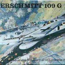 Maquetas: MAQUETA DEL CAZA MESSERSCHMITT BF 109G-2/G-5 O G-6 DE HELLER A 1/72 (VINTAGE). Lote 54625626
