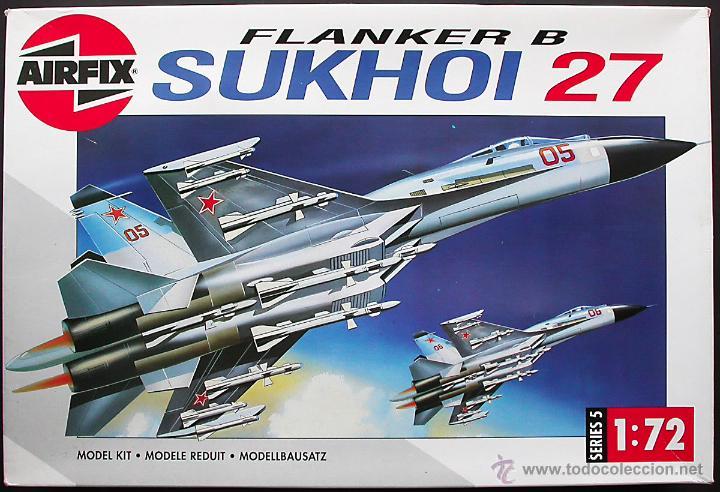 MAQUETA AIRFIX 1/72 SUJOI (SUKHOI) SU-27 'FLANKER-B' #05025 (Juguetes - Modelismo y Radio Control - Maquetas - Aviones y Helicópteros)