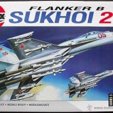 Maquetas: MAQUETA AIRFIX 1/72 SUJOI (SUKHOI) SU-27 'FLANKER-B' #05025. Lote 54627508