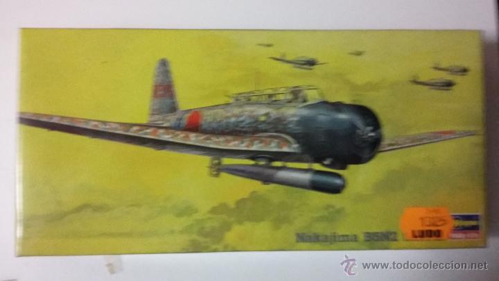 NAKAJIMA B5N2. HASEGAWA 1/72 (Juguetes - Modelismo y Radio Control - Maquetas - Aviones y Helicópteros)