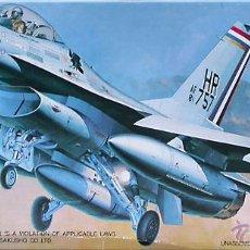 Maquetas: MAQUETA HASEGAWA 1/72 GENERAL DYNAMICS F-16A+ FIGHTING FALCON #651. Lote 28762413