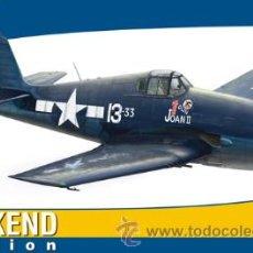 Maquetas: MAQUETA DEL CAZA NORTEAMERICANO GRUMMAN F6F-3 HELLCAT DE EDUARD A ESCALA 1/48. Lote 54697478