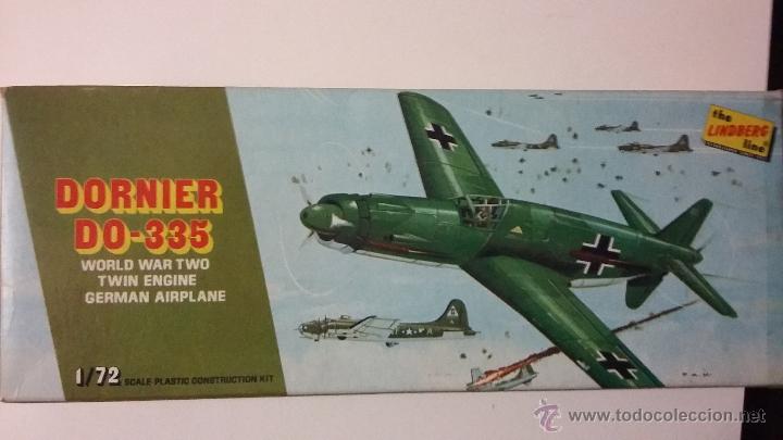 DORNIER D0-335. LINDBERG 1/72 (Juguetes - Modelismo y Radio Control - Maquetas - Aviones y Helicópteros)