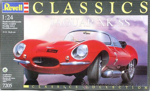 Modellbau Jaguar ~ Revell serie classic jaguar xk ss 1 24 ra verkauft durch