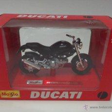 Maquetas: MAQUETA MOTO MAISTO 1:18 DUCATI MONSTERDARK -EDICION ESPECIAL - SPECIAL EDITION. Lote 55058538