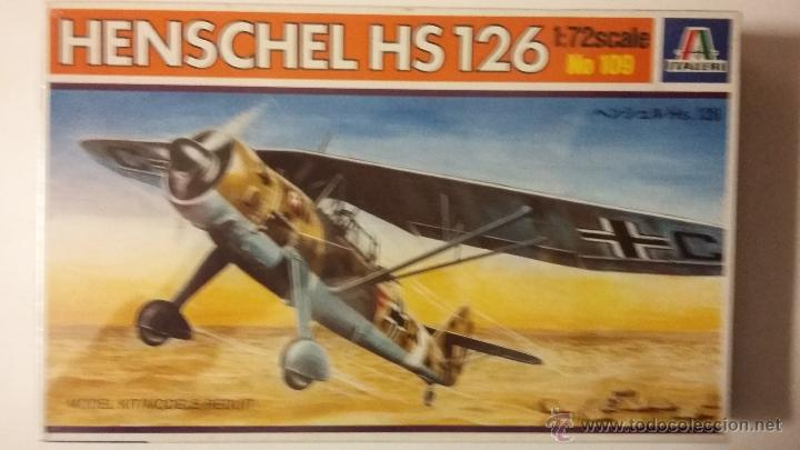 HENSCHEL HS 126. ITALERI 1/72 (Juguetes - Modelismo y Radio Control - Maquetas - Aviones y Helicópteros)