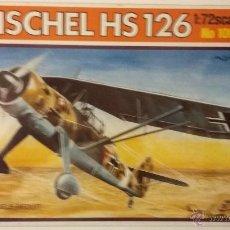 Maquetas: HENSCHEL HS 126. ITALERI 1/72. Lote 55076912