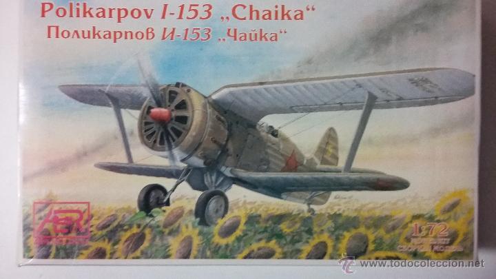 POLIKARPOV I 153 TCHAIKA. MOLDOVA 1/72 (Juguetes - Modelismo y Radio Control - Maquetas - Aviones y Helicópteros)