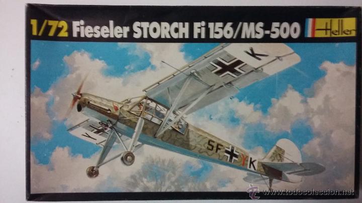FIESELER STORCH FI 156/ MORANE SAULNIER MS 500. HELLER 1/72 (Juguetes - Modelismo y Radio Control - Maquetas - Aviones y Helicópteros)