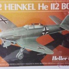Maquetas: HEINKEL HE-112 B0 B1. HELLER 1/72. Lote 55076969