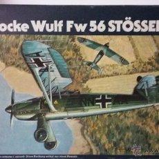 Maquetas: FOCKE WULF FW 56 STOSSER. HELLER 1/72. Lote 55076979